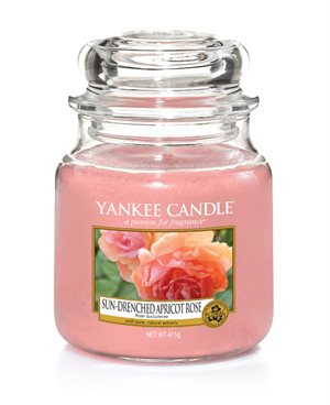 Sun Drenched Apricot Rose, Medium Jar, Yankee Candle