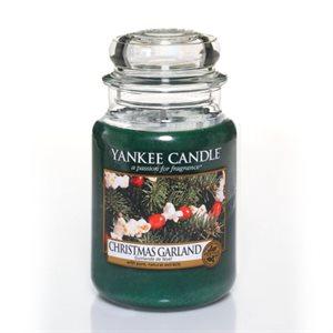 Christmas Garland, Large jar, Yankee Candle