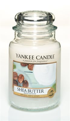 Shea Butter, Large Jar, Yankee Candle