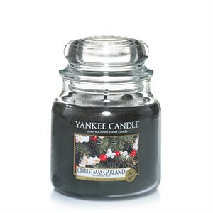 Christmas Garland, Medium jar, Yankee Candle