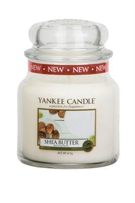 Shea Butter, Medium Jar, Yankee Candle