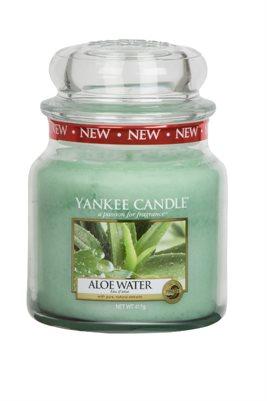 Aloe Water, Medium Jar, Yankee Candle
