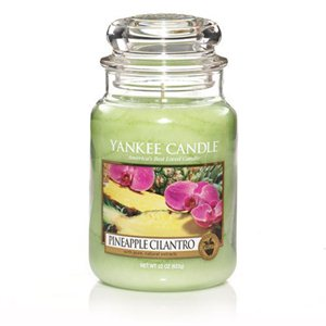 Pineapple Cilantro, Large Jar, Yankee Candle