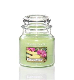 Pineapple Cilantro, Medium Jar, Yankee Candle