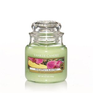Pineapple Cilantro, Small Jar, Yankee Candle