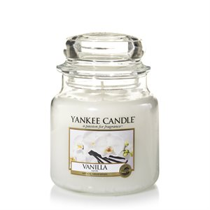 Vanilla, Medium jar, Yankee Candle
