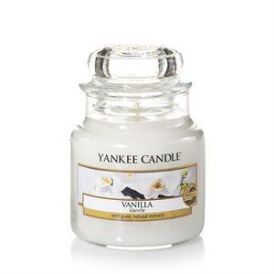 Vanilla, Small jar, Yankee Candle