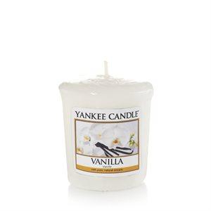 Vanilla, Votivljus samplers Yankee Candle