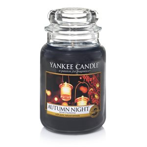 Autumn Night, Large Jar, Yankee Candle