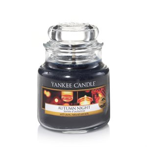 Autumn Night, Small Jar, Yankee Candle
