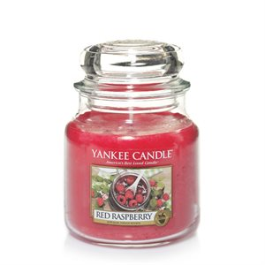 Red Raspberry, Medium Jar, Yankee Candle
