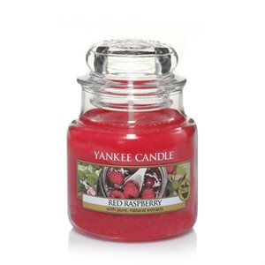Red Raspberry, Small Jar, Yankee Candle