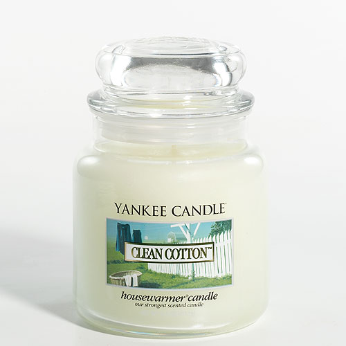 Clean cotton medium jar yankee candle for Candle painting medium