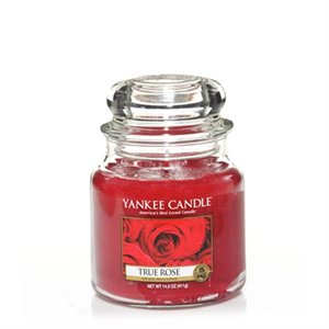 True Rose, Medium Jar, Yankee Candle