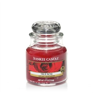 True Rose, Small Jar, Yankee Candle