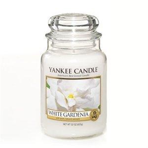 White Gardenia, Large Jar, Yankee Candle