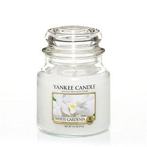 White Gardenia, Medium jar, Yankee Candle