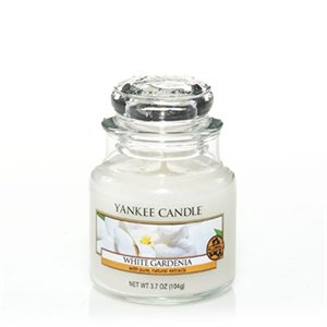 White Gardenia, Small Jar, Yankee Candle