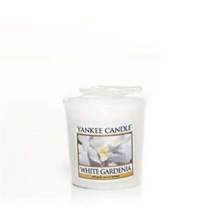 White Gardenia, Votivljus samplers, Yankee Candle