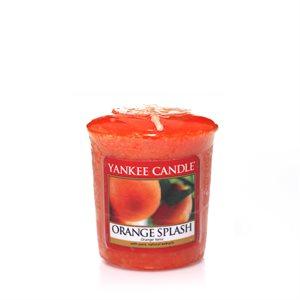 Orange Splash,  Votivljus samplers, Yankee Candle