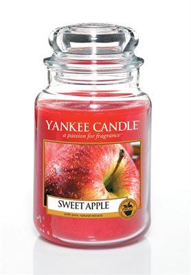 Sweet Apple, Large jar, Yankee Candle