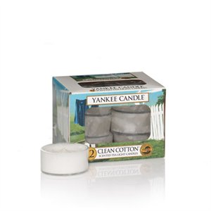 Clean Cotton, värmeljus, Yankee Candle