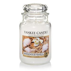 Sandalwood Vanilla, Large Jar, Yankee Candle