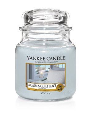 A Calm & Quiet Place, Medium Jar, Yankee Candle