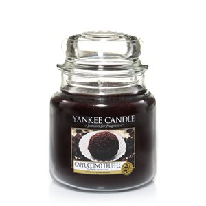 Cappuccino Truffle, Medium Jar, Yankee Candle