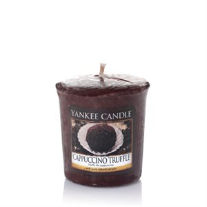 Cappuccino Truffle, Votivljus samplers, Yankee Candle