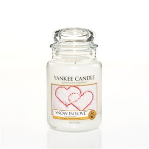 Snow In Love, Large jar, Yankee Candle