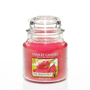 Pink Dragon Fruit, Medium jar, Yankee Candle
