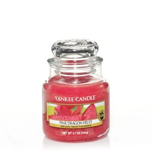 Pink Dragon Fruit, Small jar, Yankee Candle