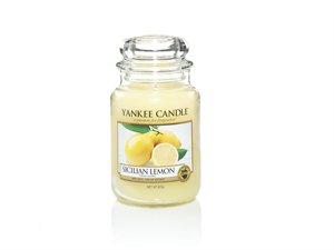Sicilian Lemon, Large Jar, Yankee Candle