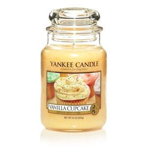 Vanilla Cupcake, Large Jar, Yankee Candle