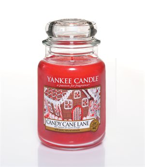 Candy Cane Lane, Large jar, Yankee Candle