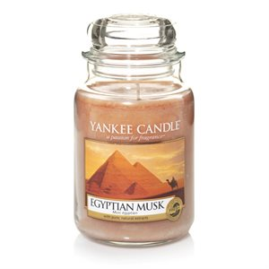 Egyptian Musk, Large Jar, Yankee Candle