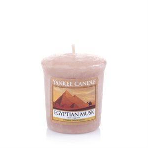 Egyptian Musk, Votivljus / Samplers, Yankee Candle