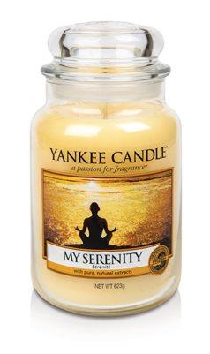 My Serenity, Large Jar, Yankee Candle