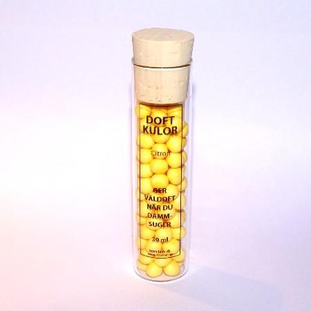 Doftkulor för Dammsugare Citron 30 ml