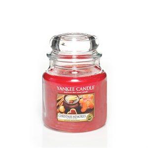 Christmas Memories, Medium jar, Yankee Candle