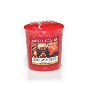 Christmas Memories, Votivljus samplers Yankee Candle