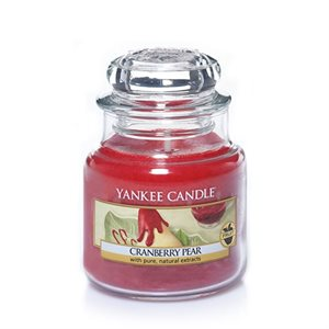 Cranberry Pear, Small Jar, Yankee Candle