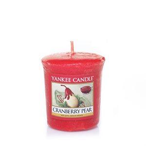 Cranberry Pear, Votivljus samplers, Yankee Candle