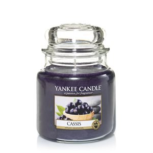 Cassis, Medium jar, Yankee Candle