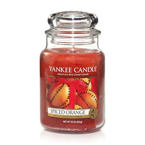 Spiced Orange, Large Jar, Yankee Candle