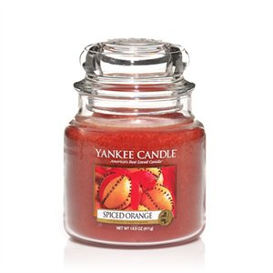 Spiced Orange, Medium Jar, Yankee Candle