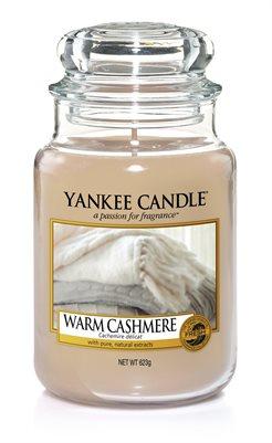 Warm Cashmere, Large Jar, Yankee Candle
