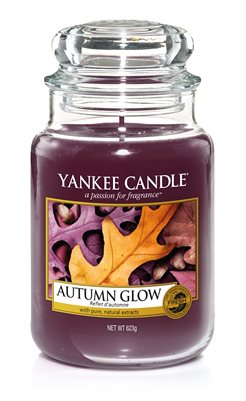 Autumn Glow, Large Jar, Yankee Candle