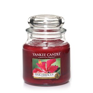 Pink Hibiscus, Medium jar, Yankee Candle
